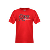 Youth Red T Shirt-Soccer-Womens