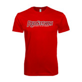 SoftStyle Red T Shirt-RedStorm