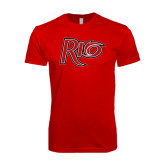 SoftStyle Red T Shirt-Rio