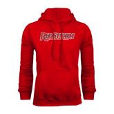Red Fleece Hood-RedStorm