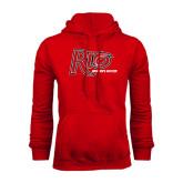 Red Fleece Hoodie-Soccer-Womens