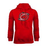Red Fleece Hood-Cyclone O