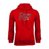 Red Fleece Hood-Soccer