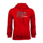 Red Fleece Hoodie-Cheerleading