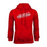 Red Fleece Hood-RedStorm Basketball