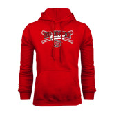Red Fleece Hoodie-Rio Grande Baseball