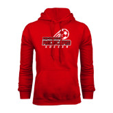 Red Fleece Hoodie-RedStorm Soccer