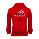 Red Fleece Hoodie-RedStorm Soccer