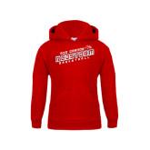 Youth Red Fleece Hoodie-RedStorm Basketball
