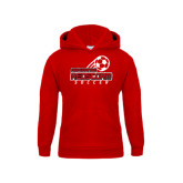 Youth Red Fleece Hoodie-RedStorm Soccer
