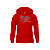 Youth Red Fleece Hoodie-Soccer-Womens