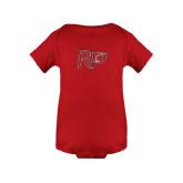Red Infant Onesie-Rio