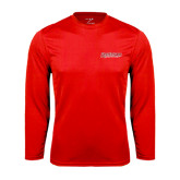 Syntrel Performance Red Longsleeve Shirt-RedStorm