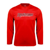 Performance Red Longsleeve Shirt-RedStorm