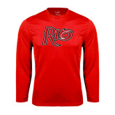 Syntrel Performance Red Longsleeve Shirt-Rio