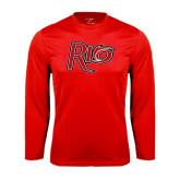 Syntrel Performance Red Longsleeve Shirt-Rio