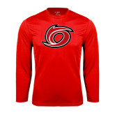 Syntrel Performance Red Longsleeve Shirt-Cyclone O
