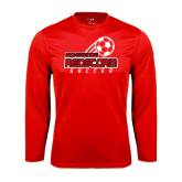 Syntrel Performance Red Longsleeve Shirt-RedStorm Soccer