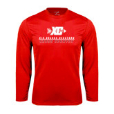 Syntrel Performance Red Longsleeve Shirt-XC Cross Country
