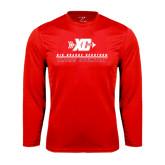 Performance Red Longsleeve Shirt-XC Cross Country