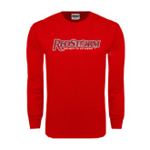 Red Long Sleeve T Shirt-RedStorm