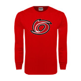 Red Long Sleeve T Shirt-Cyclone O