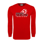 Red Long Sleeve T Shirt-RedStorm Soccer