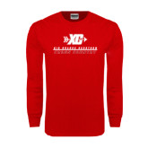 Red Long Sleeve T Shirt-XC Cross Country