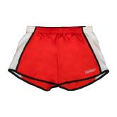 Ladies Red/White Team Short-RedStorm