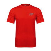 Syntrel Performance Red Tee-Rio