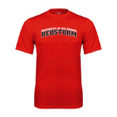 Syntrel Performance Red Tee-Arched RedStorm Bottom