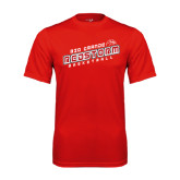 Performance Red Tee-RedStorm Basketball