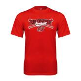Syntrel Performance Red Tee-Rio Grande Baseball