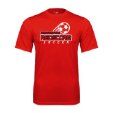 Performance Red Tee-RedStorm Soccer