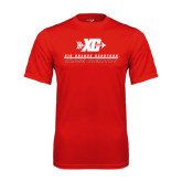 Performance Red Tee-XC Cross Country