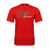 Syntrel Performance Red Tee-Basketball-Womens