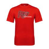 Performance Red Tee-Basketball-Womens