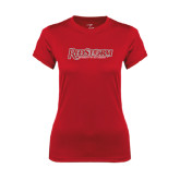Ladies Syntrel Performance Red Tee-RedStorm