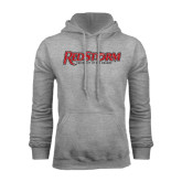 Grey Fleece Hoodie-RedStorm