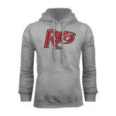 Grey Fleece Hoodie-Rio