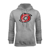 Grey Fleece Hoodie-Cyclone O
