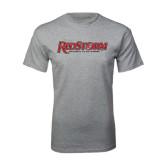 Grey T Shirt-RedStorm