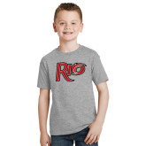 Youth Grey T-Shirt-Rio