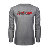 Grey Long Sleeve T Shirt-RedStorm