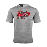 Performance Grey Heather Contender Tee-Rio