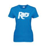 Ladies Sapphire T Shirt-Rio