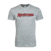 Next Level SoftStyle Heather Grey T Shirt-RedStorm