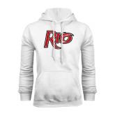 White Fleece Hood-Rio