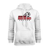 White Fleece Hood-RedStorm Soccer