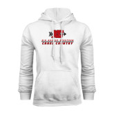 White Fleece Hoodie-XC Cross Country